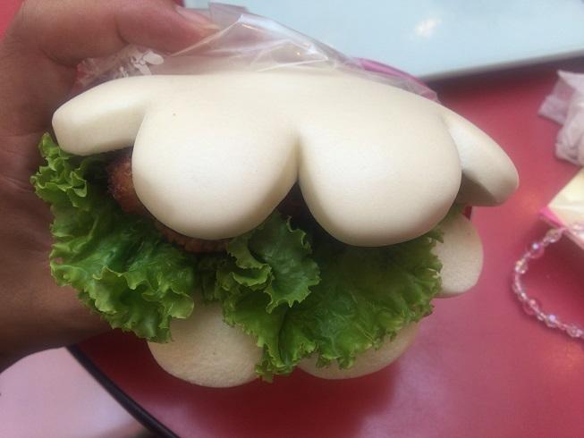 ミッキーの手サンド